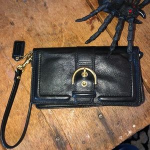 Coach wallet clutch